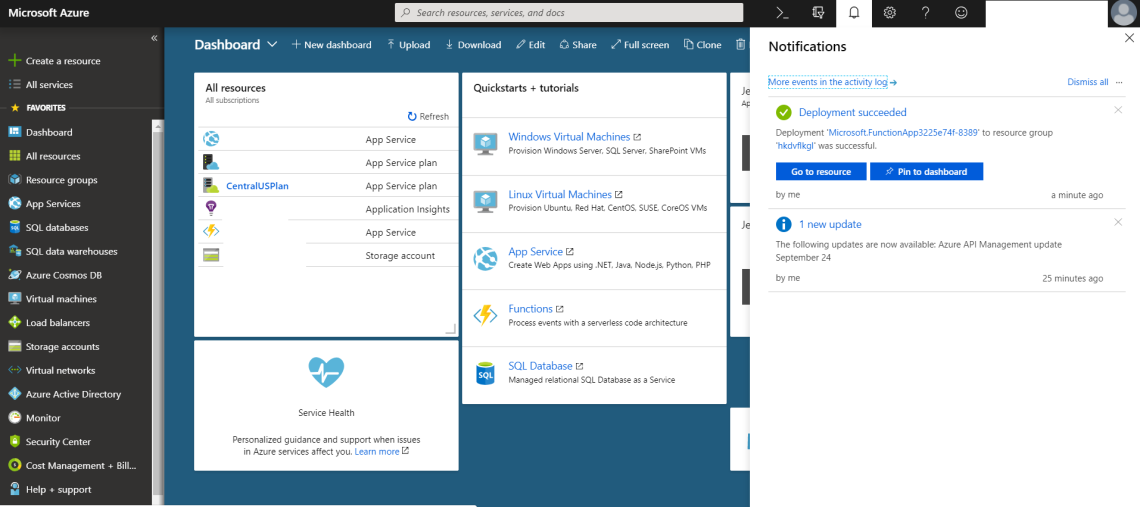 Azure Function Deployment
