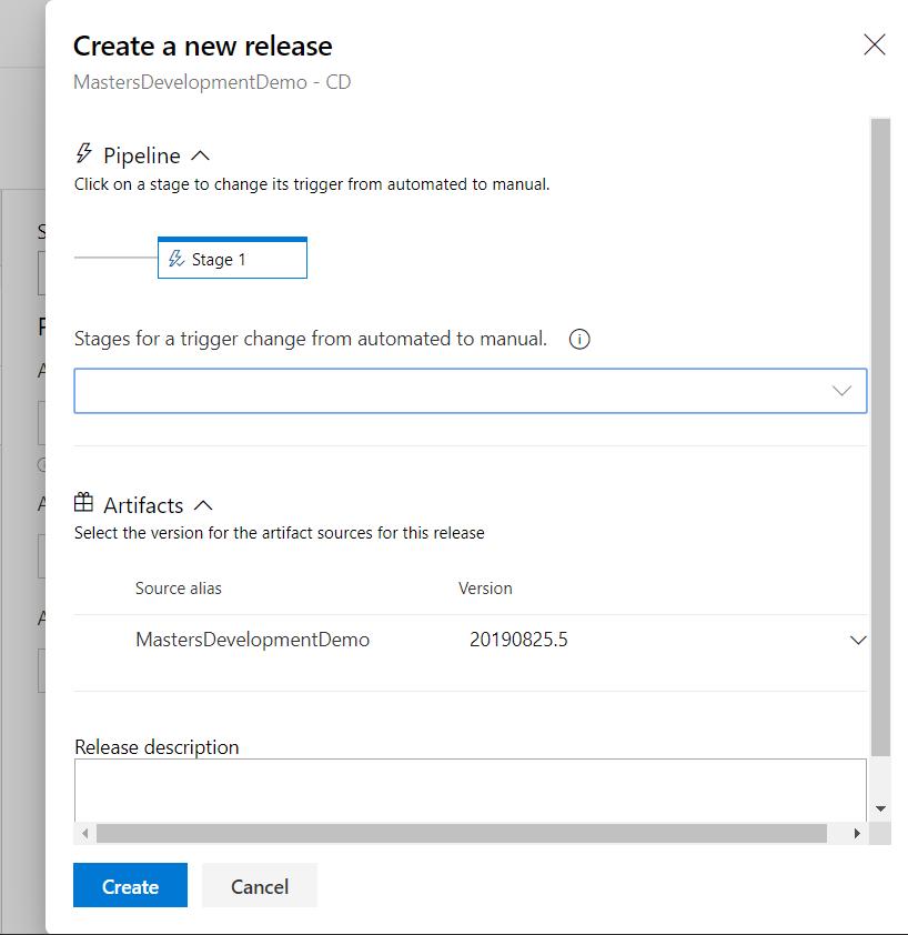 Azure DevOps Trigger Release